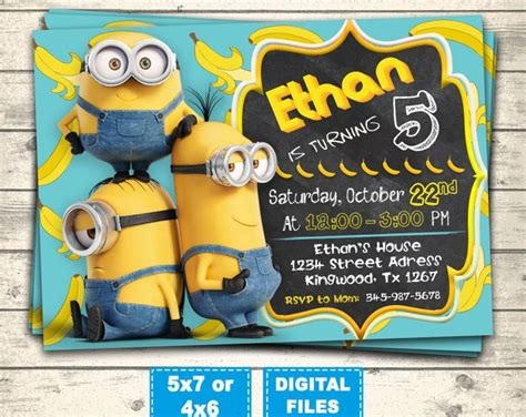 invite christmas minion birthday invitation templates minion birthday invites easytygermke invitation templates