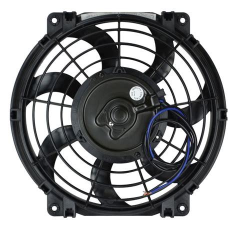 flex a lite electric fan flex a lite 10 quot s blade electric fan reversible 24v
