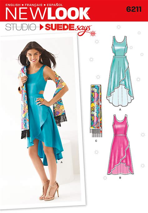 pattern review winter street dress new look 6211 misses dress