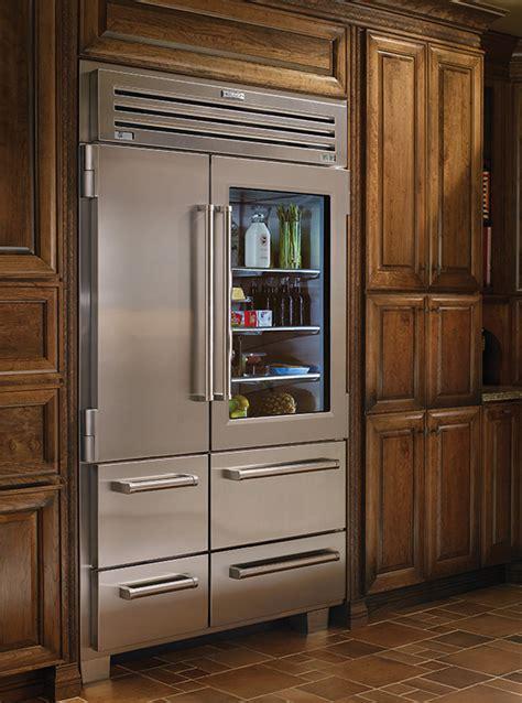 Sub Zero Pro 48 With Glass Door Side By Side Refrigerator Freezer With Glass Door Pro 48 Dual Refrigerator Sub Zero