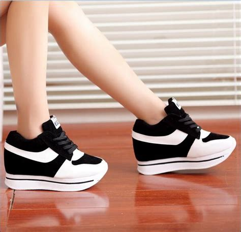Sandal Cewek 6 2016 fashion shoes wedge shoes height increasing sport casual shoes wedge high heel