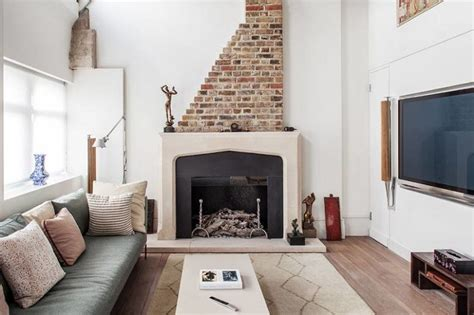 fireplace for apartment apartments modern living room bohemian whimsical boho modern apartment with scandinavian touches