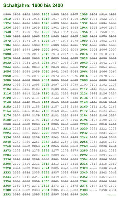 wann schaltjahr wann ist das n 228 chste schaltjahr zeit kalender