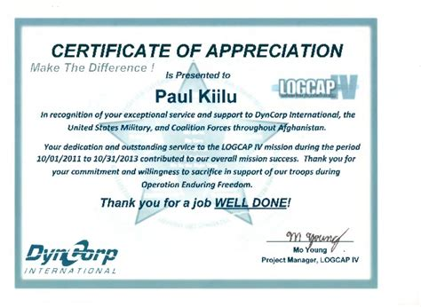 thank you card template to embed in email dyncorp appreciation certificate 2