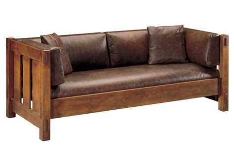 mission sofa plans ourproducts details stickley furniture since 1900