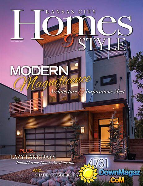 kansas city home design magazine kansas city homes style july august 2016 187 download