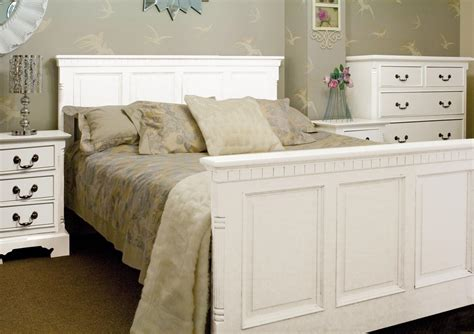 White Painted Bedroom Furniture White Painted Bedroom Furniture Burford Painted Quality Traditional Style Antique White