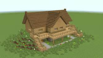 minecraft how to build wooden mansion