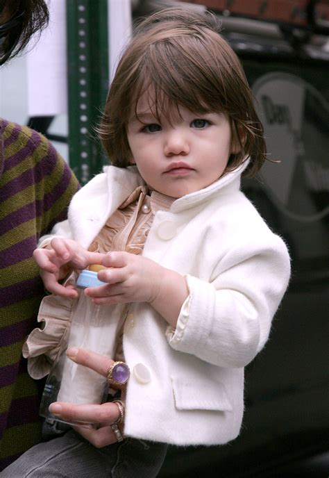 Tom Cruise Sign Suri Cruise As Baby Gap Model by Remember Suri Cruise How Obsessed Were You Suri S