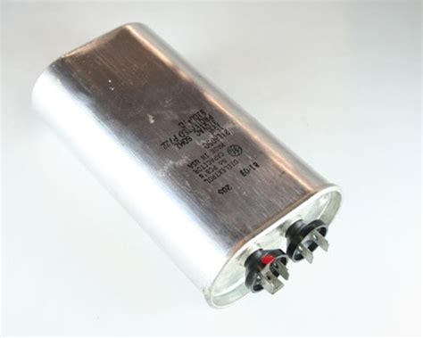 how to read metal capacitor new 2 pcs of ge 15uf 370vac motor run capacitor oval metal 21l6050 ebay