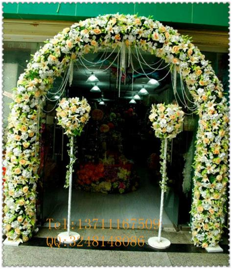 Wedding Arch Wholesale by Factory Cheap Price Wholesale Wedding Pe Artificial