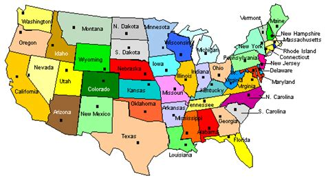us map with all states and capitals 50 state capitals 50 states capitals state capitals