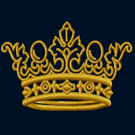 Crown Baby Machine 4in1 4 hobby machine embroidery designs heraldic crowns 9 machine embroidery designs set