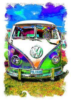 volkswagen van art volkswagen van on pinterest vw vans volkswagen bus and