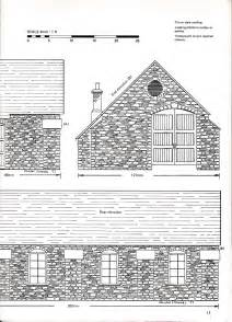 railway lineside buildingsplans dimensions drawings