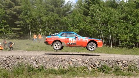 porsche 944 rally car pca members competed in porsche 944s at pennsylvania rally