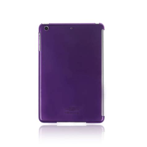 Casing Mini 2 transparent plastic back cover skin stand cover