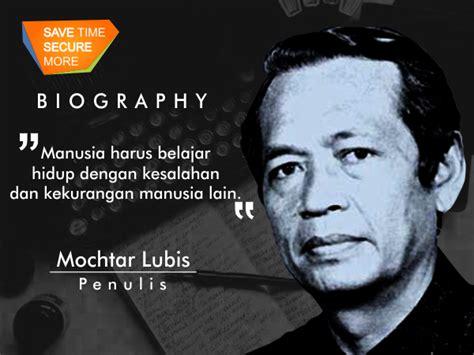 Nirbaya Catatan Harian Mochtar Lubis biografi portal informasi fasapay indonesia