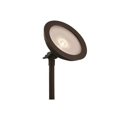 Portfolio Low Voltage Landscape Lighting Shop Portfolio 9 Watt 35w Equivalent Specialty Textured Bronze Low Voltage Led Landscape Flood