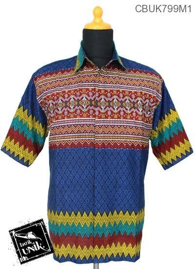 Baju Batik Kemeja Batik Rang Rang 1670 Murah kemeja batik katun motif rang rang warna kemeja pendek