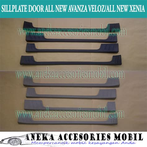 Sillplate Plastik Sing Grand All New Yaris sillplate door toyota all new avanza sillplate pintu