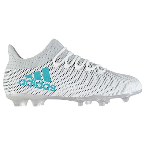adidas x 17 2 fg firm ground football boots mens wht gry soccer cleats shoes ebay