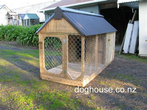 dog house with kennel fully enclosed dog kennel and run quality outdoor dog house dog dog breeds picture
