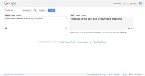 imagenes traductor google traductor de google online espa 241 ol gratis