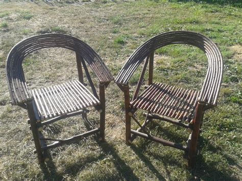 Bent Willow Furniture by 2 Bent Willow Chairs Cedar Nanaimo