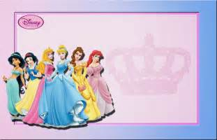 disney princess free printable invitations or photo frames is it for is it free is