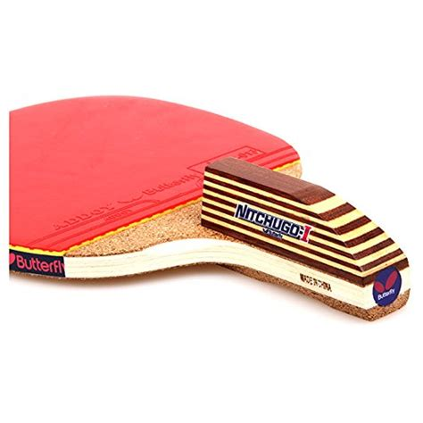 table tennis racket grip butterfly nitchugo table tennis racket paddle penhold