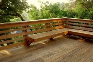 bench railing pdf deck bench railing plans free