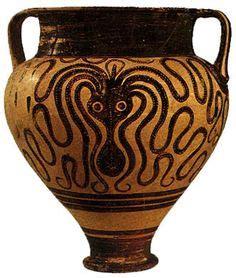 vaso cretese maschera funeraria in oro detta di agamennone fu pressata