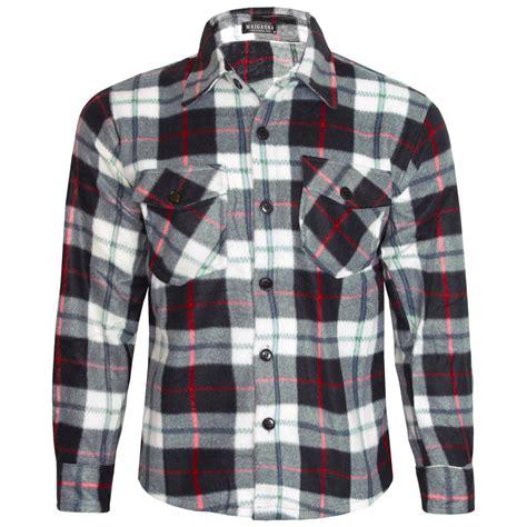 Hoodie Navy Check M Xl Kemeja Flannel mens fleece thermal lumberjack shirt casual check winter works m l xl xxxl ebay