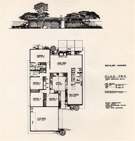 Dc Hillier S Mcm Daily Joseph Eichler Joseph Eichler House Plans