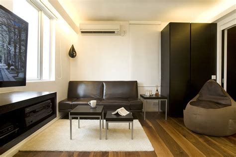 chic and small apartment interior design in hong kong