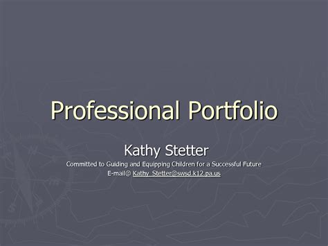 28 professional portfolio template best photos of