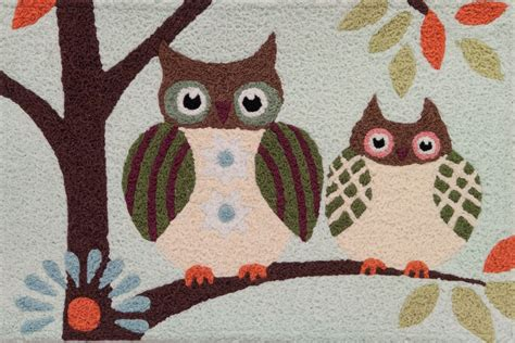 owl rugs for liora manne frontporch 1443 47 owls area rug 24 inches x 36 inches walmart