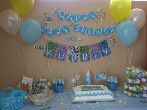 decorations for baby showers baby shower decoration ideas for boy baby shower