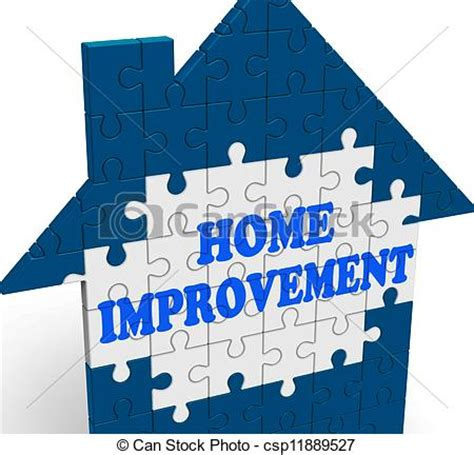 clip of home improvement house means renovate or