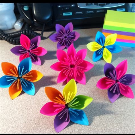 Post It Origami Flower - 20 best images about post it on posts