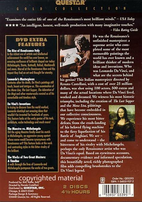 leonardo da vinci biography dvd life of leonardo da vinci the dvd dvd empire