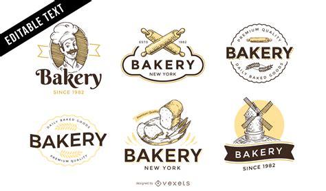 free design logo bakery bakery logo template set vector download