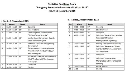 Contoh Berita Acara Pelatihan Keamanan Dan Ketertiban by Semarak Panggung Pameran Iqe 2015 Bsn Badan