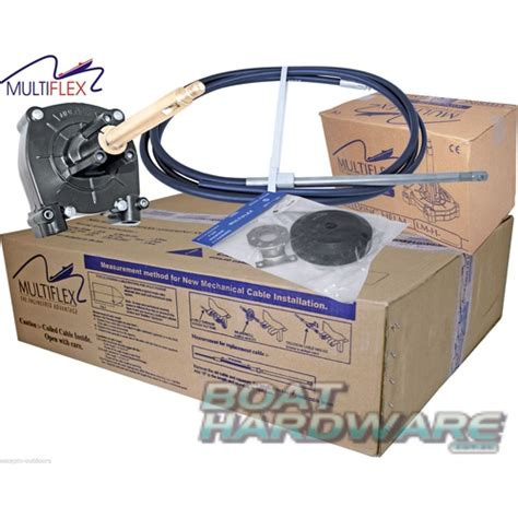13ft boat steering cable steering kit 13ft cable