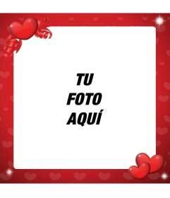 imagenes de amor y amistad para decorar marco para decorar fotos de amor de color rojo y con