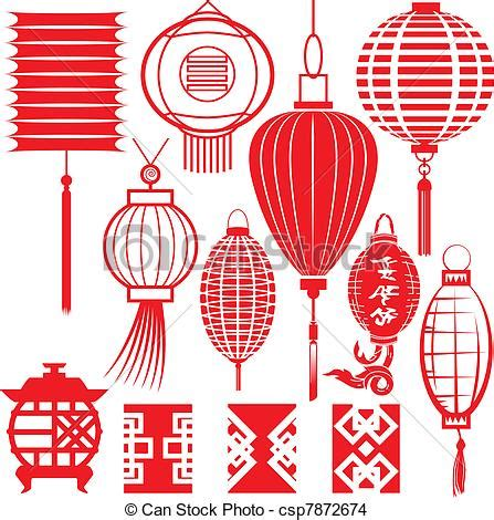 Small Home Design Japan by Eps Vector Of Chinese Lantern Collection Clip Art