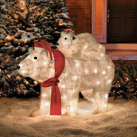 polar bear christmas lawn decoration 45 best polar bear