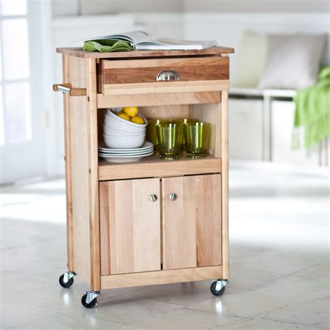 Kitchen Island Microwave Cart The Brennan Microwave Cart Kitchen Islands And Carts At Hayneedle