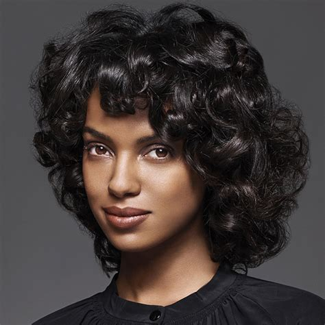 Black Hairstyles For Medium Hair by 12 Medium Curly Hairstyles And Haircuts For 2017